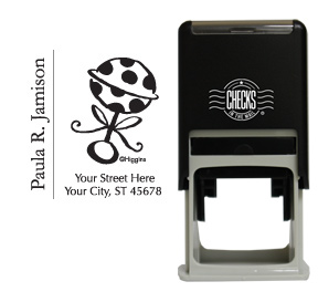 Baby's Rattle Stamp