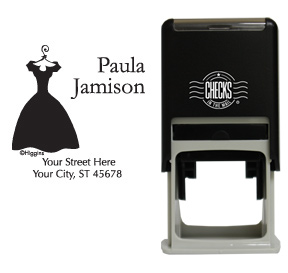 Little Black Dress Stamp