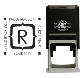 Brackets Monogram Stamp