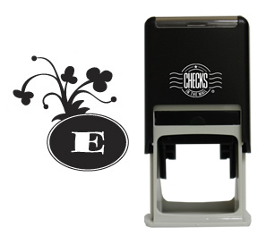 Clover Monogram Stamp