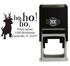Holiday Dog Stamp