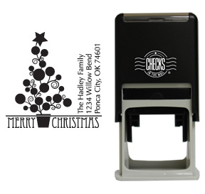 Holiday Tree Stamp