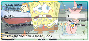SpongeBob Best Episodes Side-Tear Personal Checks