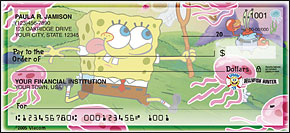 Spongebob Squarepants Side Tear Checks