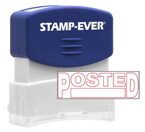 POSTED Stock Title Stamp
