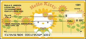 Hello Kitty Side-Tear Checks