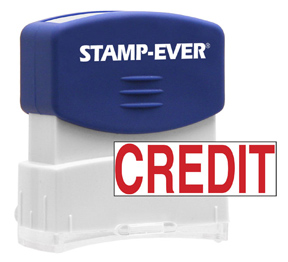 CREDIT Stock Title Stamp