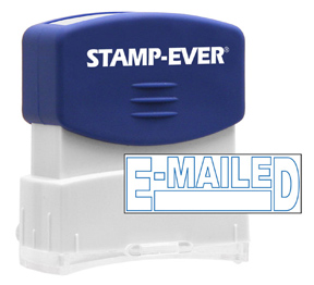 E-MAILED Stock Title Stamp