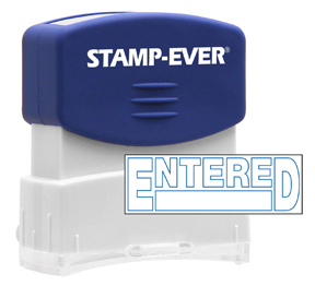 ENTERED Stock Title Stamp