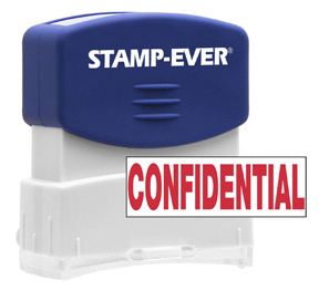 CONFIDENTIAL Stock Title Stamp