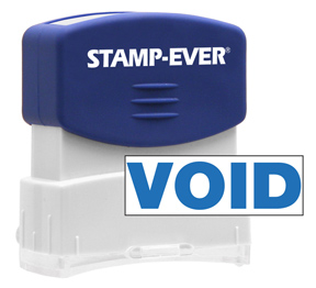 VOID Stock Title Stamp