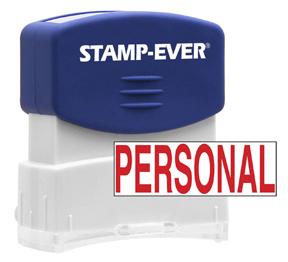 PERSONAL Stock Title Stamp