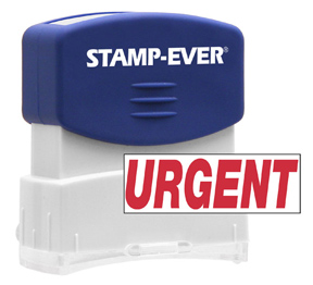 URGENT Stock Title Stamp