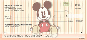 Mickey Mouse Classic Personal Checks