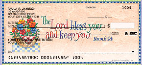 Simple Blessings Personal Checks - 4 images