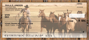 Wild West Personal Checks - 4 images
