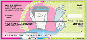 Star Trek Quogs Checks