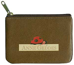 Anne Geddes Leather Coin Purse