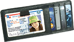 Credit Card/ID Cover Insert
