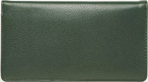 Green Leather Cover