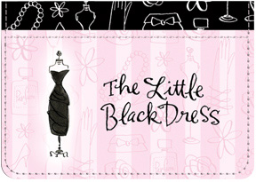 Little Black Dress Debit Caddy