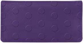 Delicious Dots Embossed Purple Leather Cover