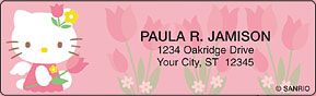 Hello Kitty� Blooms Sheet Labels