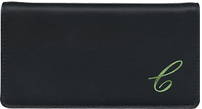Monogram Leather Cover - Green