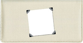 Ivory Fabric Photo Cover - Color
