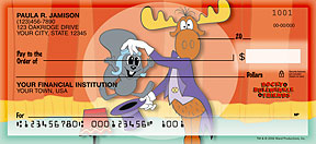 Bullwinkle & Friends Checks