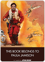 Star Wars™: The Force Awakens Heroes Book Plate Labels 6753